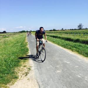 vélo face au vent